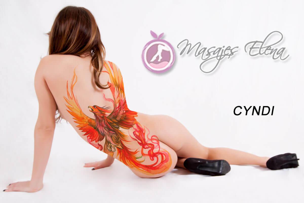 Cyndi - Masajes Eroticos Madrid