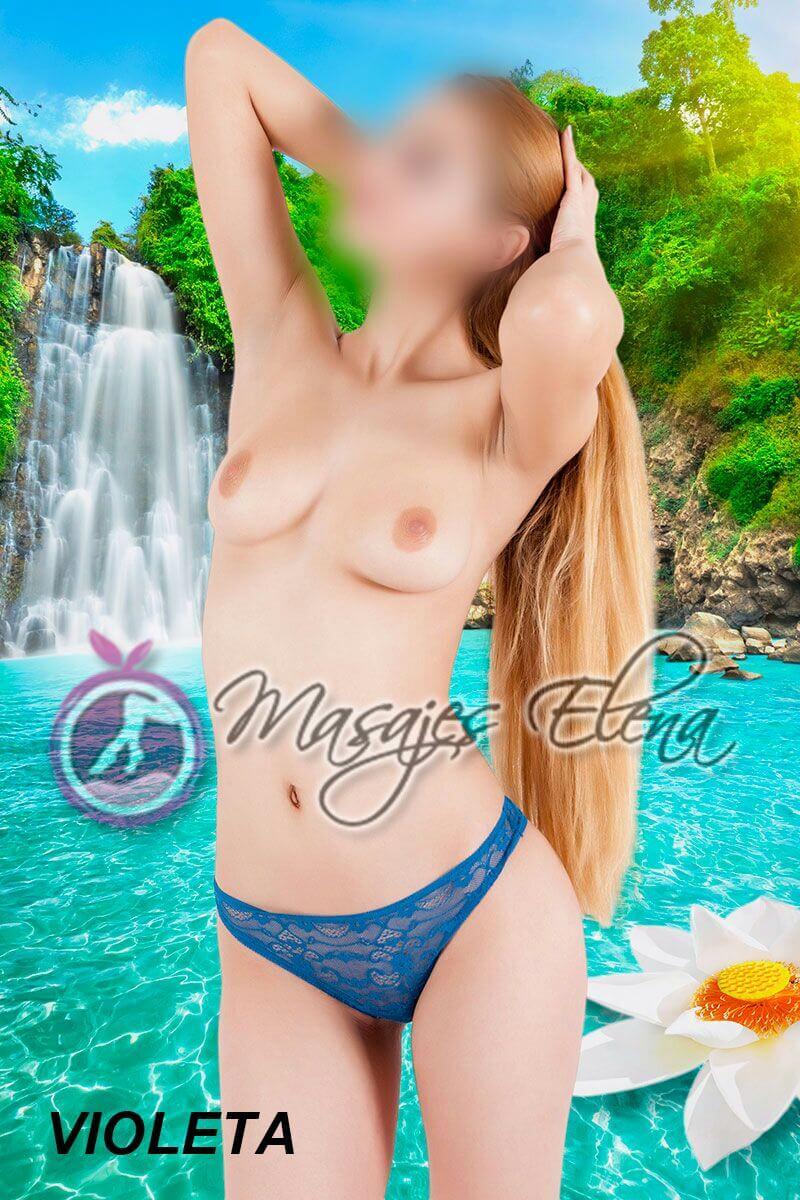 Masajista Erotica en Madrid - Violeta