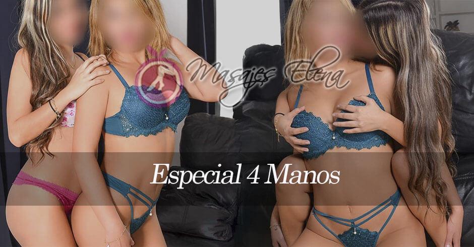 SPECIALMASAJE 4 MANOS MADRID