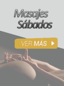 Masajes sabados madrid