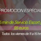 Promocion Especial Servicio Escort